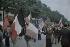 World War II. Crowd celebrating the liberation on the Champs-Elysées, Paris. Photograph by André Zucca (1897-1973). Bibliothèque historique de la Ville de Paris. © André Zucca / BHVP / Roger-Viollet