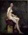Eugène Delacroix (1798-1863). Sitting nude, known as Miss Rose, 1817-1820. Paris, Louvre Museum. © Roger-Viollet