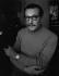 Georges Simenon (1903-1989), écrivain belge. Epalinges (Suisse), 1968. Photographie de Horst Tappe (1938-2005). © Fondation Horst Tappe / KEYSTONE Suisse / Roger-Viollet