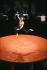 """""""Boléro"""". Musique : Maurice Ravel. Chorégraphie : Maurice Béjart. Jorge Donn. Paris, Palais des Congrès, 13 février 1988. © Colette Masson/Roger-Viollet"""