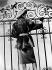 World War II. Winter fashion, three-quarters of grey astrakhan. Paris, September 1941. © LAPI/Roger-Viollet