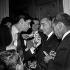 Bruno Coquatrix au domicile d'Edith Piaf le jour de ses obsèques. Paris, boulevard Lannes, 11 octobre 1963.  © Roger-Viollet