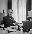 Maurice Genevoix (1890-1980), écrivain français. Paris, 1954. © Boris Lipnitzki/Roger-Viollet