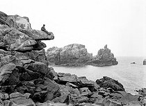 The French coast at the beginning of XXth century © Neurdein/Roger-Viollet