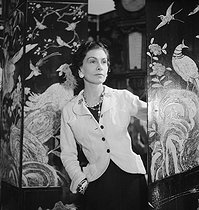 Coco Chanel (1883-1971), French fashion designer, Paris, 1937. © Boris Lipnitzki/Roger-Viollet