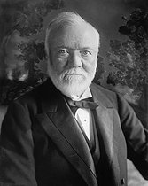 August 11, 1919 (100 years ago) : Death of Andrew Carnegie (1835-1919), Scottish-born American industrialist and philantropist © Underwood Archives / The Image Works / Roger-Viollet
