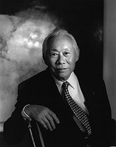 February 1, 2020: 100th anniversary of the birth of Zao Wou-Ki (1920-2013), naturalized Chinese painter and engraver © Fondation Horst Tappe / KEYSTONE Suisse / Roger-Viollet