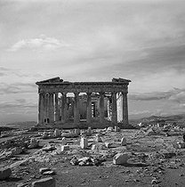 Parthenon. Acropolis of Athens (Greece), February 1960. © Roger-Viollet