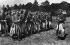 Zouaves de l'armée française participant aux grandes manoeuvres de l'Est. 1911. © Maurice-Louis Branger/Roger-Viollet