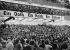 Conflit à propos des Sudètes. Manifestation dans le palais des sports : Vue de l'auditorium pendant le discours d'Hitler. Berlin, 26 septembre 1938.  © Ullstein Bild/Roger-Viollet