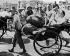 Guerre sino-japonaise, 1937-1941. Civils chinois fuyant. © LAPI/Roger-Viollet