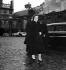 Golda Meir (1898-1978), Israeli politician, arriving at Matignon. Paris, on March 16, 1959.  © Roger-Viollet