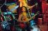 Bob Marley (1945-1981), chanteur de reggae jamaïcain en concert avec son groupe The Wailers. Hambourg (Allemagne), septembre 1976. © Ullstein Bild / Roger-Viollet