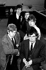 Les membres des Rolling Stones. En partant du fond : Keith Richards, Charlie Watts, Mick Jagger, Brian Jones et Bill Wyman, 1963. © TopFoto / Roger-Viollet