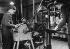 Apprentissage. Affûtage des outils et machine à percer. 1949. © Jacques Boyer / Roger-Viollet