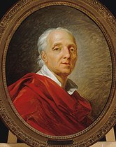 Jean-Simon Berthelemy (1742-1811). Denis Diderot (1713-1784), French writer and philosopher. Oil on canvas. Paris, musée Carnavalet. © Musée Carnavalet / Roger-Viollet