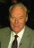 """Jack Slipper (1924-2005), commissaire divisionnaire britannique qui avait tenté d'arrêter Ronald Arthur Biggs (Ronnie, 1929-2013), voleur britannique et """"cerveau"""" de l'attaque du train postal Glasgow-Londres en 1963. Angleterre, 9 août 1997. © TopFoto / Roger-Viollet"""