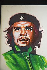 Che Guevara (Ernesto Rafael Guevara, 1928-1967), révolutionnaire cubain d'origine argentine. Peinture en vente sur un marché. Camaguey (Cuba). © TopFoto / Roger-Viollet