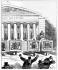 Caricature de Cham, contre les Impressionnistes (1867).  © Roger-Viollet
