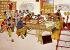 """""""La Bibliothèque de la Brigade de production"""". Peinture paysanne chinoise. Commune Populaire de Hou-Hsien (Shaanxi). Années 1960-70. © Roger-Viollet"""