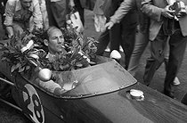 Stirling Moss (born in 1929), British racing driver, winner of the Monaco Grand Prix, 1960.    © Roger-Viollet