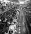 Renault car factory. Assembly line of 4 CV. Boulogne-Billancourt (France), circa 1946-1948. © Pierre Jahan/Roger-Viollet