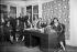 "Jury of the Miss Russia beauty contest. Paris, offices of the newspaper ""La Russie illustrée"", 1930. © Albert Harlingue/Roger-Viollet"