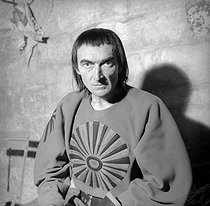 """Macbeth"" by William Shakespeare. Jean Vilar. Avignon Festival, July 1954.  © Studio Lipnitzki/Roger-Viollet"