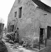 Native house of Louis Braille (1809-1852), French teacher and organ player, inventor of a writing system for blind people. Coupvray (Seine-et-Marne).$$$ © Roger-Viollet