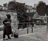 Kissing couple, rue Saint-Vincent. Paris (XVIIIth arrondissement), 1956. Photograph by Janine Niepce (1921-2007). © Janine Niepce/Roger-Viollet