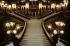 Main staircase of the Opera Garnier. Paris, 1983. © Jean-Pierre Couderc/Roger-Viollet