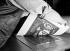 Paper mills. Publishing industry. The press: printing of an etching. Paris. Imprimerie Paul Haasen. 1931. Photograph by François Kollar (1904-1979). Paris, Bibliothèque Forney. © François Kollar/Bibliothèque Forney/Roger-Viollet