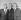 """Alan Shepard (1923-1998), John Glenn (1921-2016) et Scott Carpenter (1925-2013), astronautes américains et membres du groupe des """"Mercury Seven"""", les sept astronautes du programme Mercury sélectionnés par la NASA le 9 avril 1959. Etats-Unis, 13 janvier 1961. © TopFoto / Roger-Viollet"""