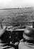 World War II. Front of Normandy, July 1944. German amphibious car. © LAPI/Roger-Viollet
