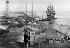 Le canal de Suez lors de son inauguration. Port-Saïd (Egypte), 1869. © Roger-Viollet
