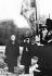 World War II. Winston Churchill and Admiral Darlan.  © Albert Harlingue/Roger-Viollet