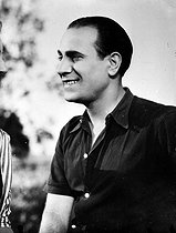 Tino Rossi (1907-1983), French actor and singer, October 1943. © LAPI / Roger-Viollet