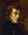 Frédéric Chopin (1810-1849), compositeur et pianiste polonais. Peinture d'Eugène Delacroix (1798-1863). Paris, Musée du Louvre. © Roger-Viollet