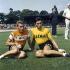 Jacques Anquetil and Eddy Merckx, racing cyclists. © Roger-Viollet
