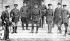 Sir John Grenfell Maxwell (1859-1929), général britannique, et son état-major. Dublin (Irlande), 1916. © TopFoto/Roger-Viollet