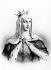 Marguerite de Provence (1221-1295), reine de France, femme de Saint Louis.   © Neurdein/Roger-Viollet