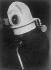 World War I. Protective mask against toxic gases. France, 1917. © Jacques Boyer/Roger-Viollet