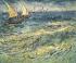 "Vincent Van Gogh (1853-1890). ""Marine à Santa Maria"", vers 1890. Moscou (Russie), musée Pouchkine. © Alinari/Roger-Viollet"