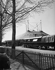 Amar circus. Big top and lorries, near Paris. Photograph by René Giton known as René-Jacques (1908-2003). Bibliothèque historique de la Ville de Paris. © René-Jacques / BHVP / Roger-Viollet