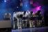 Jazz à Vienne 2009. Roberta Gambarini (née en 1972), chanteuse de jazz italienne, invitée du Roy Hargrove Big Band. Vienne (Isère), 2 juillet 2009. © Gérard Amsellem / Roger-Viollet