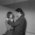 """Un couple"", film de Jean-Pierre Mocky (1929-2019). Juliette Mayniel et Jean Kosta. France, 8 mars 1960. © Alain Adler / Roger-Viollet"