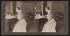 Edith Roosevelt (1861-1948), épouse de Theodore Roosevelt (1858-1919), homme d'Etat américain. Washington D.C. (Etats-Unis), Maison Blanche, 1903. Vue stéréoscopique. © The Image Works / Roger-Viollet