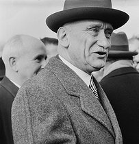 Robert Schuman (1886-1963), French politician. © Collection Roger-Viollet / Roger-Viollet