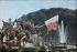 World War II. Joyous crowd celebrating the Liberation of Paris on the Champs-Elysées, Paris. Photograph by André Zucca (1897-1973). Bibliothèque historique de la Ville de Paris. © André Zucca / BHVP / Roger-Viollet