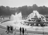 Le bassin de Latone, parc du château de Versailles (Yvelines), 1938-1939. Photographie de René Giton dit René-Jacques (1908-2003). Bibliothèque historique de la Ville de Paris. © René-Jacques/BHVP/Roger-Viollet